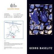 GEORG BASELITZ - Galerie Noah