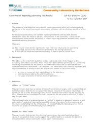 CLP025-Guideline for Reporting Laboratory Test Results [PDF]