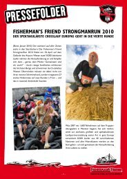 FISHERMAN'S FRIEND STRONGMANRUN 2010