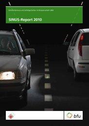 SINUS-Report 2010 - BfU