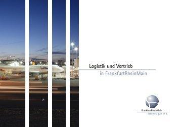 Flyer Logistik und Vertrieb 2011 - FrankfurtRheinMain GmbH