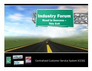 CCSS Industry Forum Presentation - Final - PDF - Florida's Turnpike