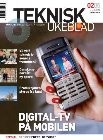 Teknisk ukeblad 0205 - Norges forskningsråd