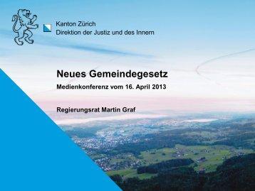 Gemeindegesetz - Gemeindeamt - Kanton Zürich