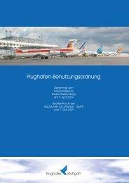 Flughafenbenutzungsordnung - Flughafen Stuttgart