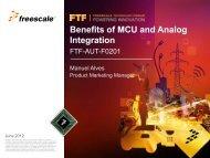 Benefits of MCU and Analog Integration