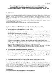 Begründung zur Verordnung der Landesregierung und des UVM ...