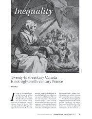 Inequality: Twenty-first century Canada is not ... - Fraser Institute