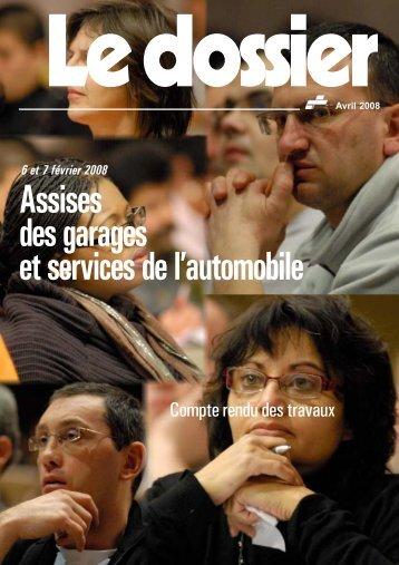 CR des travaux 2008 - Féderation - La cgt