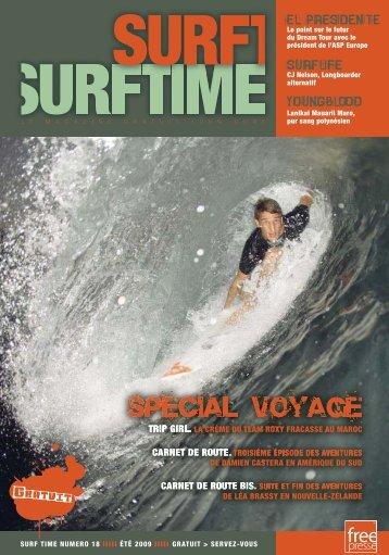 SURF TIME NUMERO 18 IIIII ÉTÉ 2009 IIIII GRATUIT > SERVEZ ...