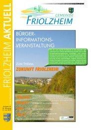Blättle KW 24 - Friolzheim