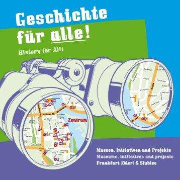 Broschuere Frankfurt (Oder) DE, EN