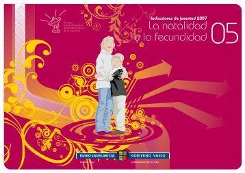 05. La natalidad y la fecundidad - Gazteaukera - Euskadi.net