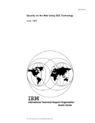 Security on the Web Using DCE Technology - Back to ps-2.kev009 ...