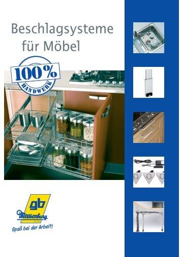 Möbelgriff Metall - gb Meesenburg OHG