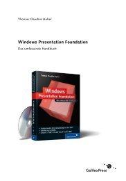 Windows Presentation Foundation (PDF) - Galileo Computing