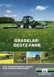 GRASKLAR: DEUTZ-FAHR - Gangolf
