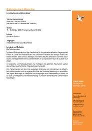 Programm Warschau 2009 - forum unna
