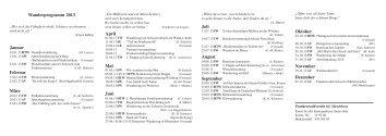 Wanderplan 2013 / PDF - Frankenwaldverein