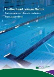 01184 Leatherhead Centre Programme_V8.indd - Fusion Lifestyle