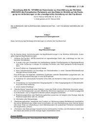 Verordnung (EG) Nr. 107/2009 der Kommission - Gewerbeaufsicht ...