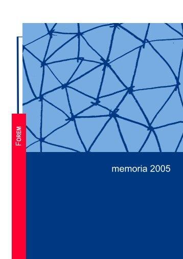 memoria 2005 - Forem