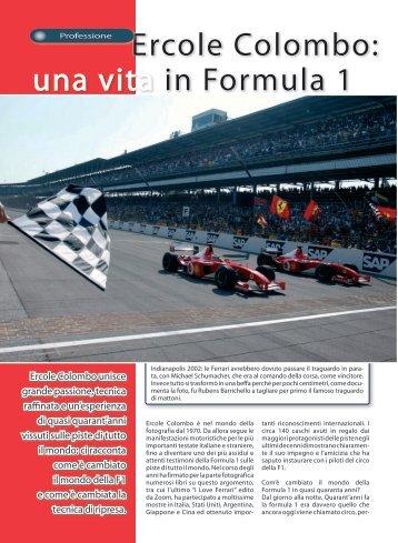 Ercole Colombo: una vita in Formula 1 - Fotografia.it