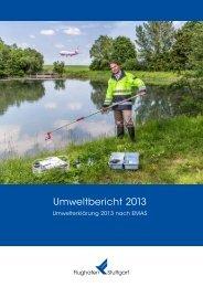 Umweltbericht 2013 - Flughafen Stuttgart