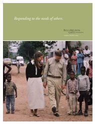 2003 Annual Report - Bill & Melinda Gates Foundation