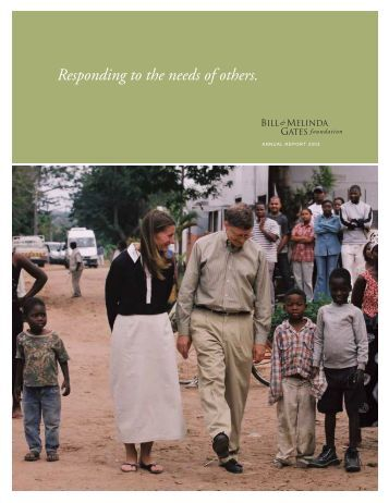 2003 Annual Report - Bill & Melinda Gates Foundation