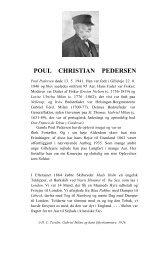 Poul Christian Pedersen - gabrielmilan.dk