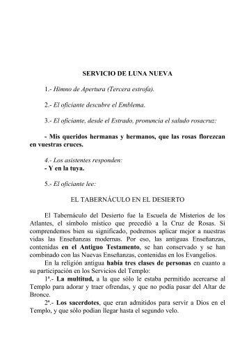 SERVICIO DE LUNA NUEVA.pdf - Fraternidad Rosacruz Max ...