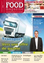 Transport - FOOD MAGAZINE