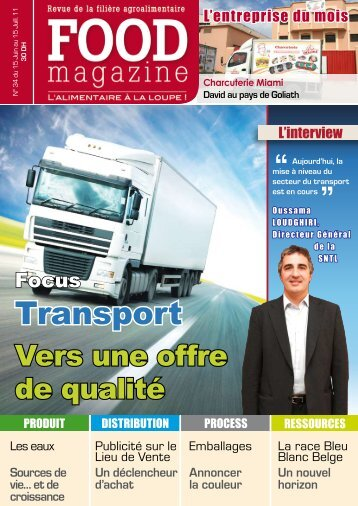 Transport - FOOD MAGAZINE