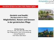 Dr. Christian Heering - Forums Gesundheitswirtschaft Basel