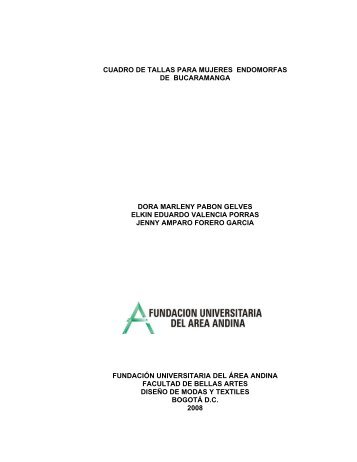 cuadro de tallas para mujeres endomorfas de bucaramanga dora