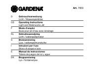 OM, Gardena, Licht-/Wasserspieldüse, Art 07953-20, 2001-02