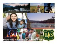 Improving Recreation Opportunities - American Recreation Coalition
