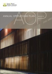 annual operations plan 2012/13 - Forest and Wood Products Australia