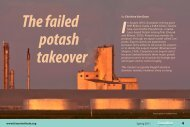 The failed Potash takeover - Fraser Institute