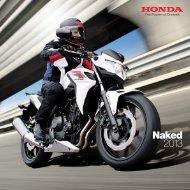 Naked Bikes (PDF, 10.3 MB) - Honda