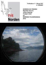 Nr. 1, feb. 2013 - Frit Norden