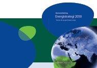sammenfatning af Energistrategi 2050