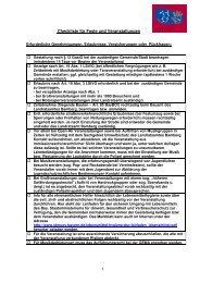 Checkliste für Veranstalter von Festen  und ... - Landkreis Bamberg