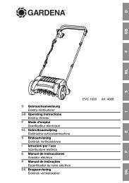 OM, Gardena, Scarificateur électrique, Art 04068-20, 2006-01