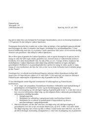 Læs brevet - Foreningen Garantloekken