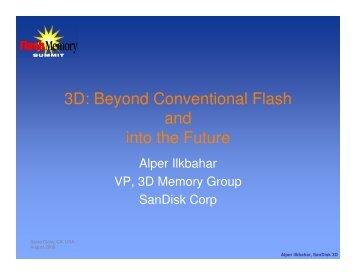 3D - Flash Memory Summit
