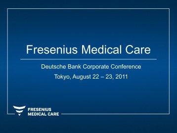 Presentation - Fresenius Medical Care