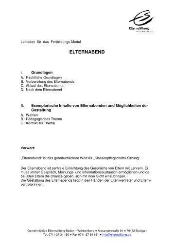 """berufsorientierung: schüler/innen - elternabend """"die fähigkeiten, Einladung"""