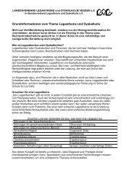 Grundinformationen für Journalisten - Frankfurter Presseclub